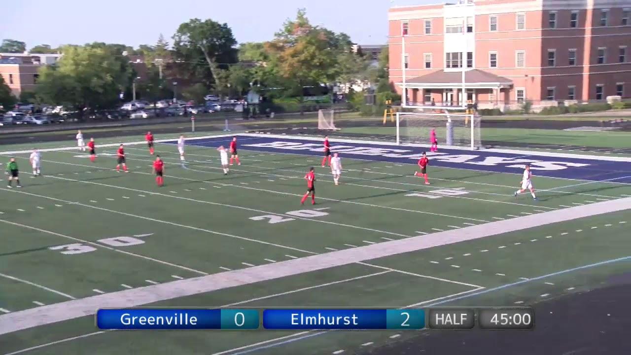 4416374ec 2017 09 01 Elmhurst College Mens Soccer - YouTube
