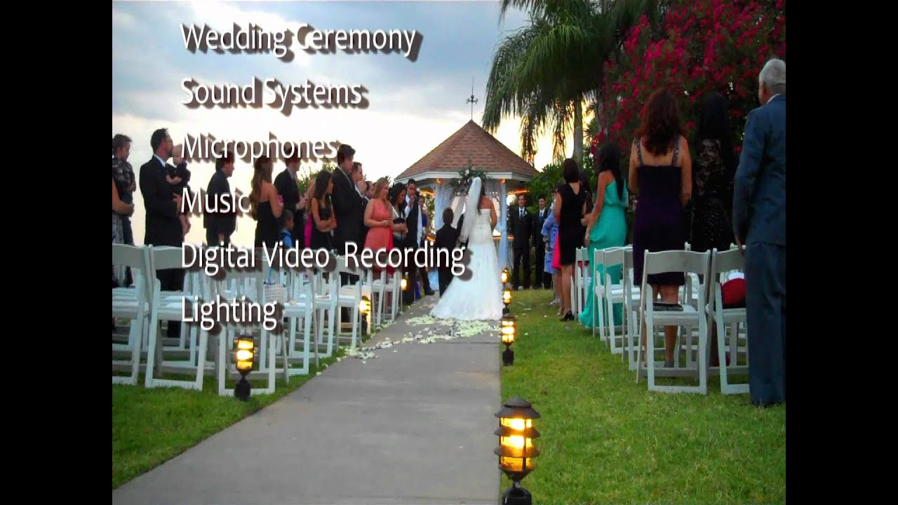 Tampa Wedding DJCeremony At The Rusty Pelican Tampa