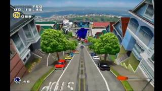 sonic adventure 2 battle city escape