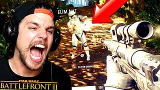 Première Partie Au SNIPER !! (Star Wars: Battlefront 2)