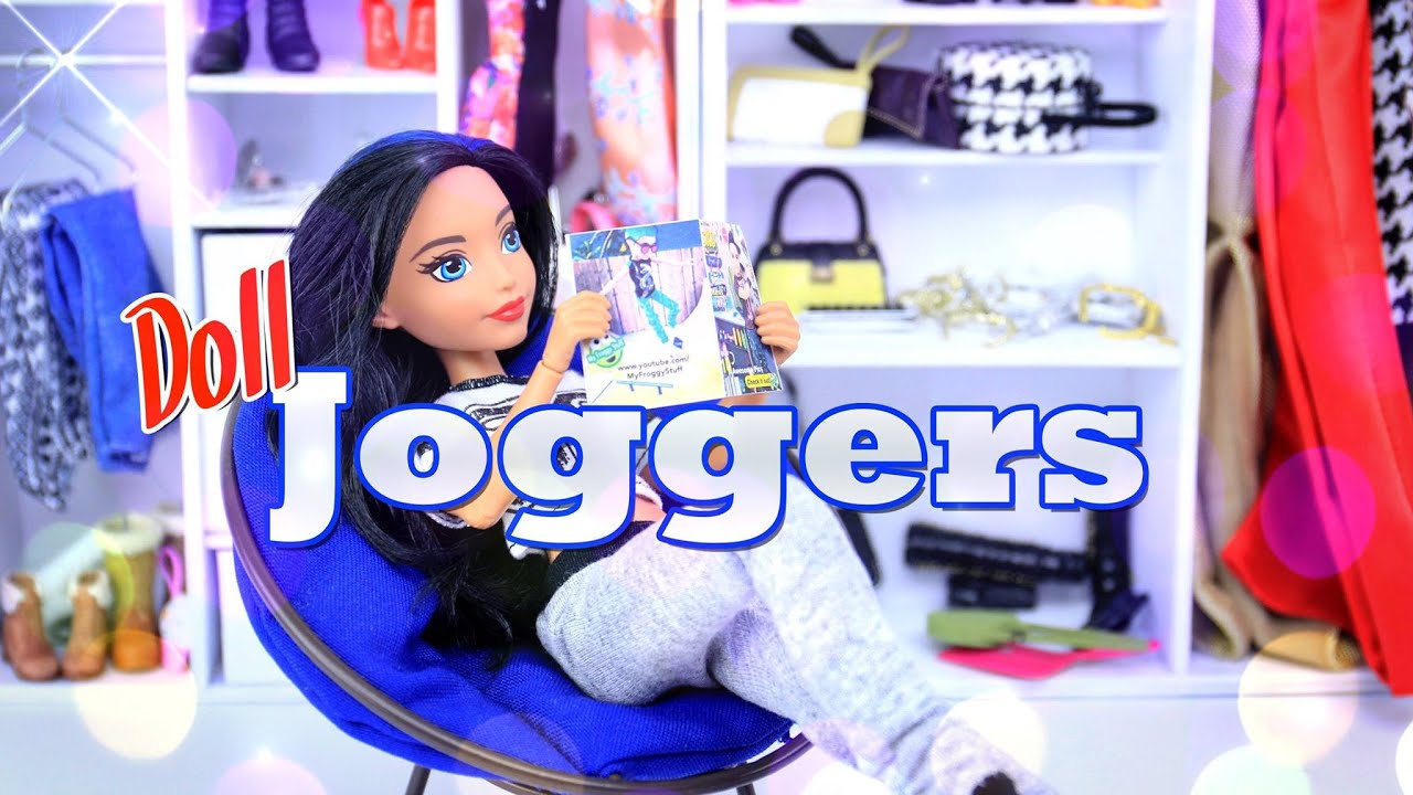 DIY   How To Make: Doll Joggers  Handmade   Clothes   Craft   4K   YouTube Part 69