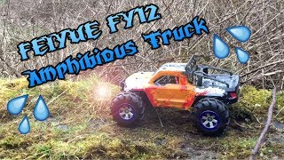 FEIYUE FY12 1:12 RC Off-road Amphibious Truck REVIEW