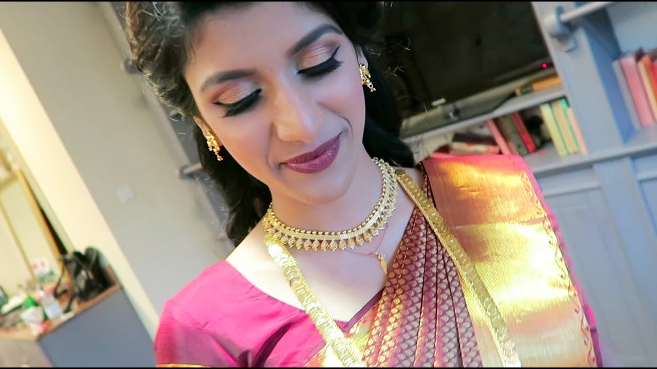 cardiff with vithya | bridal job | tamil hair and make up artist
