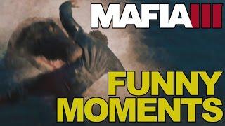 Mafia 3 Funny Moments   Feeding the Crocs, Glitches & More!