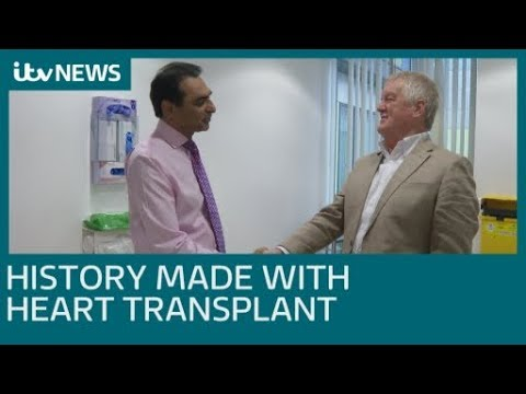 Revolutionary Heart Transplant Surgery At Newcastle Freeman Hospital | ITV News