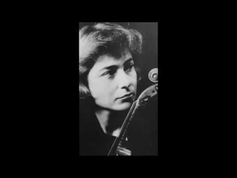 Michèle Auclair plays Tchaikovsky Violin Concerto in D major Op. 35