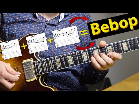 3 Simple Bebop Tricks You Can Make Great Jazz Licks With