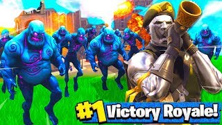 1000 ZOMBIES vs TILTED TOWERS...schau was passiert! Fortnite Battle Royale