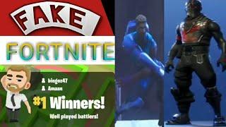 FAKE FORTNITE!!! (fortnite has a clone?!)