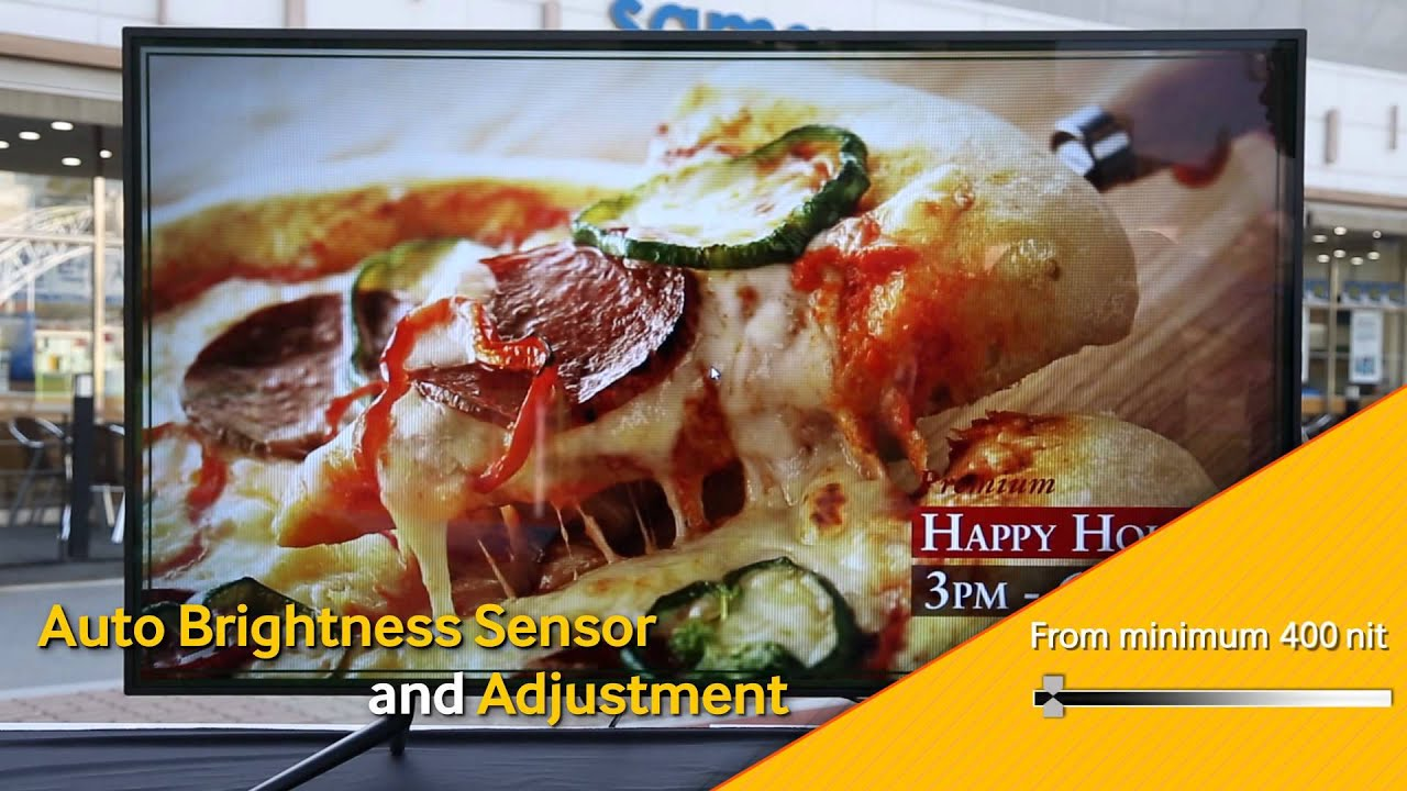 Samsung Semi Outdoor Signage OMD Series