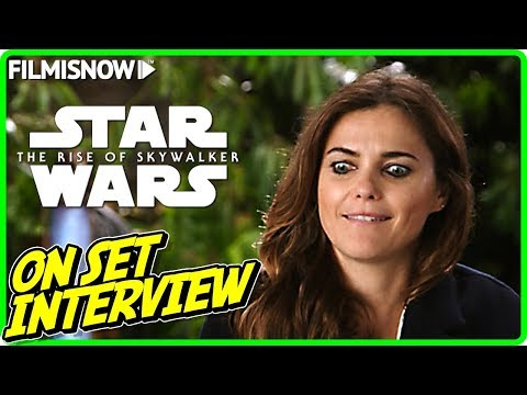 Star Wars The Rise Of Skywalker Keri Russell Zorii Bliss On Set Interview Youtube