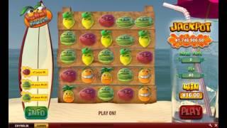Funky fruits jackpot game - Jackpot over $2,620,000.00