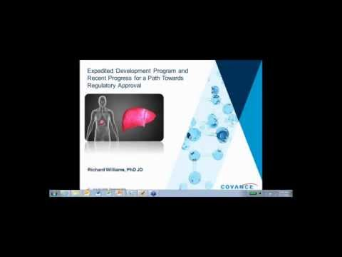 Non-Alcoholic Steatohepatitis (NASH) Covance Webinar: Progress Toward Regulatory Approval Pathways