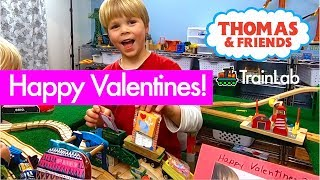Thomas and Friends Happy Valentines Day Special Story! Brio Diesel has a special delivery!