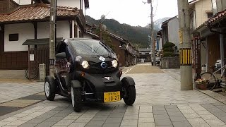 Nissan: New Mobility in Old Japan Town: 超小型EV、城下町を走る!