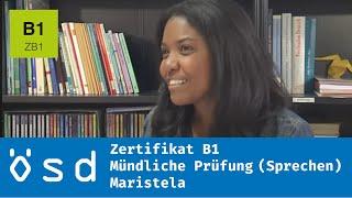 ÖSD Zertifikat B1 – Mündliche Prüfung (Sprechen)