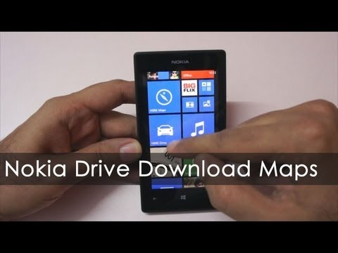 How to Download Maps for offline Navigation on Nokia Lumia phones