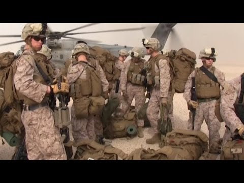 Marines Land in Support of Eagle Resolve 2013