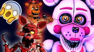 OS ANIMATRONICS MAIS DIFÍCEIS DA ULTIMATE CUSTOM NIGHT! 😱 FNAF - HUEstation
