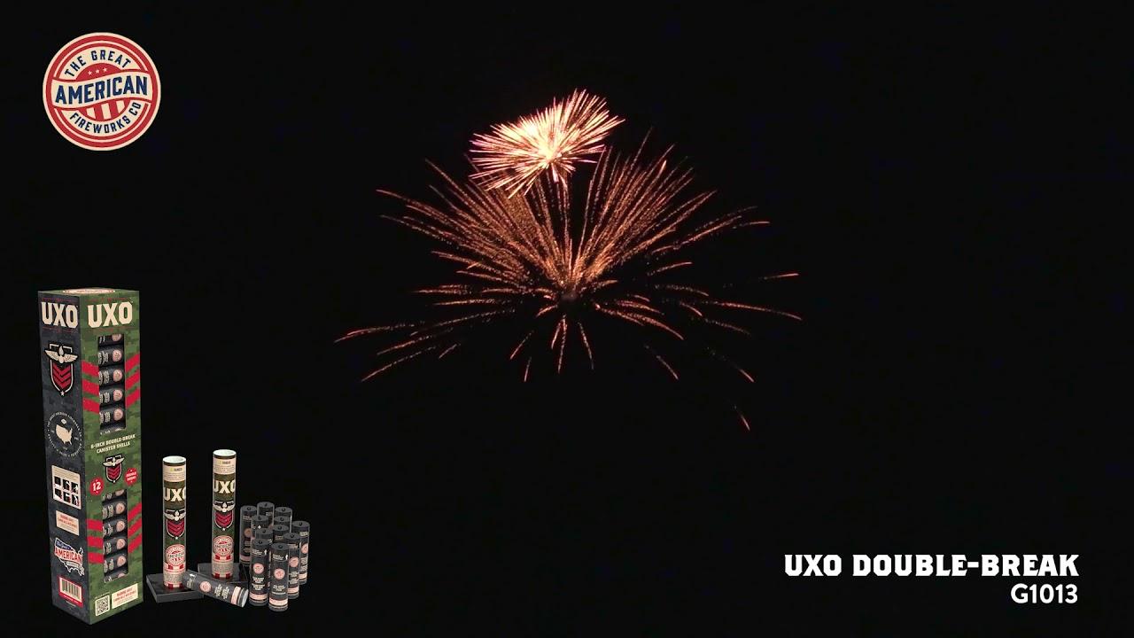 UXO, 6-Inch Double-Break Artillery Shells by The Great American Firework Co. | Superior Fireworks