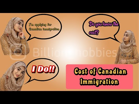 Express Entry 101   Cost Of Canadian Immigration   Pakistani In Canada Vlog By Billion Hobbies