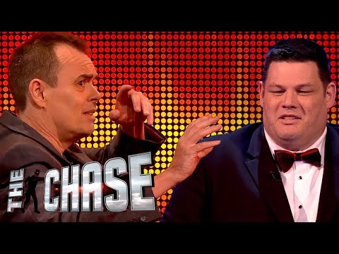 Can Kevin Eldon Out Run The Beast Mark Labbett?  The Celebrity Chase