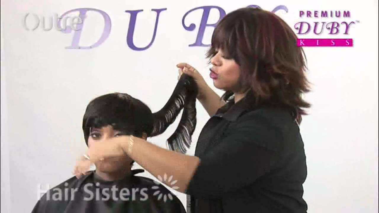 Outre Duby Kiss Demonstration Quick Weave Method Youtube