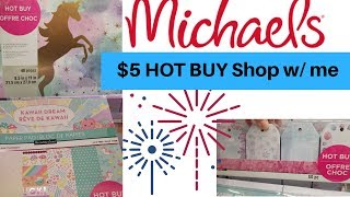 MICHAEL'S SHOP W/ME | HOT BUY PAPER PADS | PRESIDENT'S DAY 2019