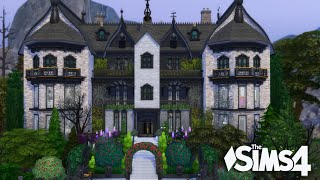The Sims 4 - Celebirty Vampire Mansion (5 Packs only!) House Tour