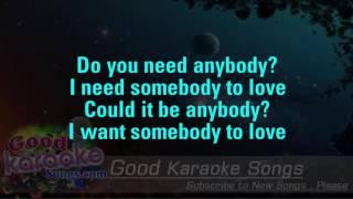 With A Little Help From My Friends - The Beatles ( Karaoke Lyrics )