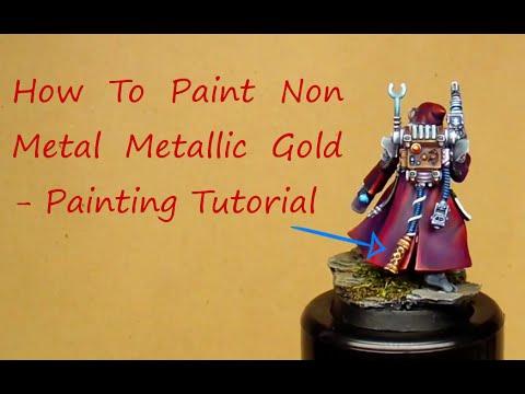 Painting Non Metallic Metal Red