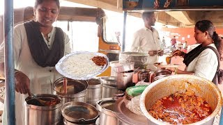 Unlimited Meals Ready | Roadside Unlimited Non Veg Meals Only $0.7 | Indian Street Food