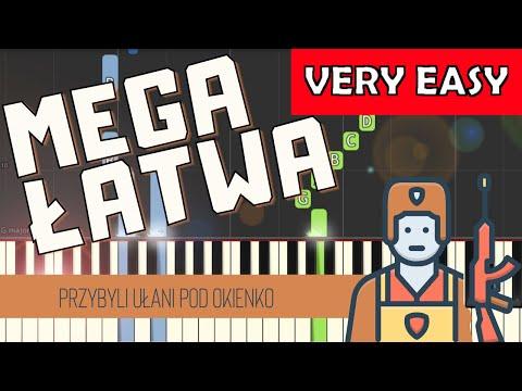 🎹 Przybyli ułani pod okienko - Piano Tutorial (MEGA ŁATWA wersja) 🎹