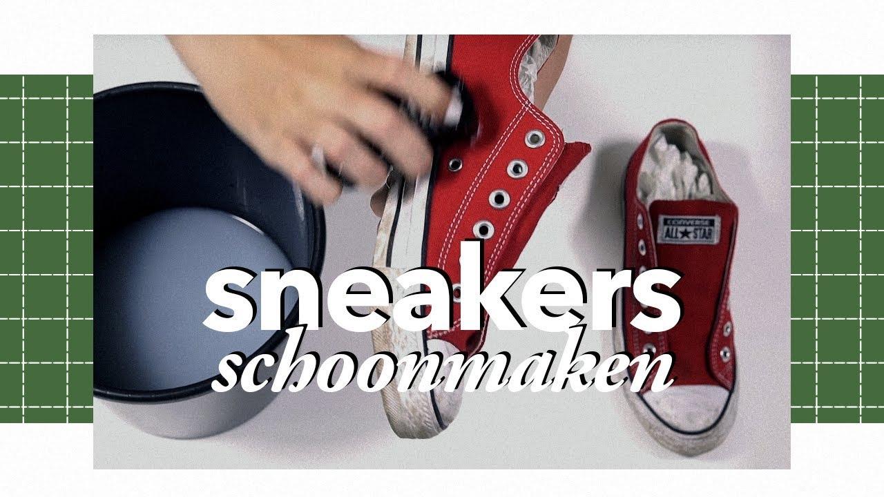 asics schoenen schoonmaken