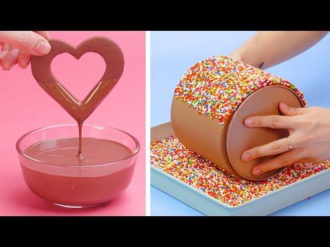 Creative Tasty Chocolate Cake Decorating Recipes | So Yummy Chocolate Cake Recipes | Perfect Cake