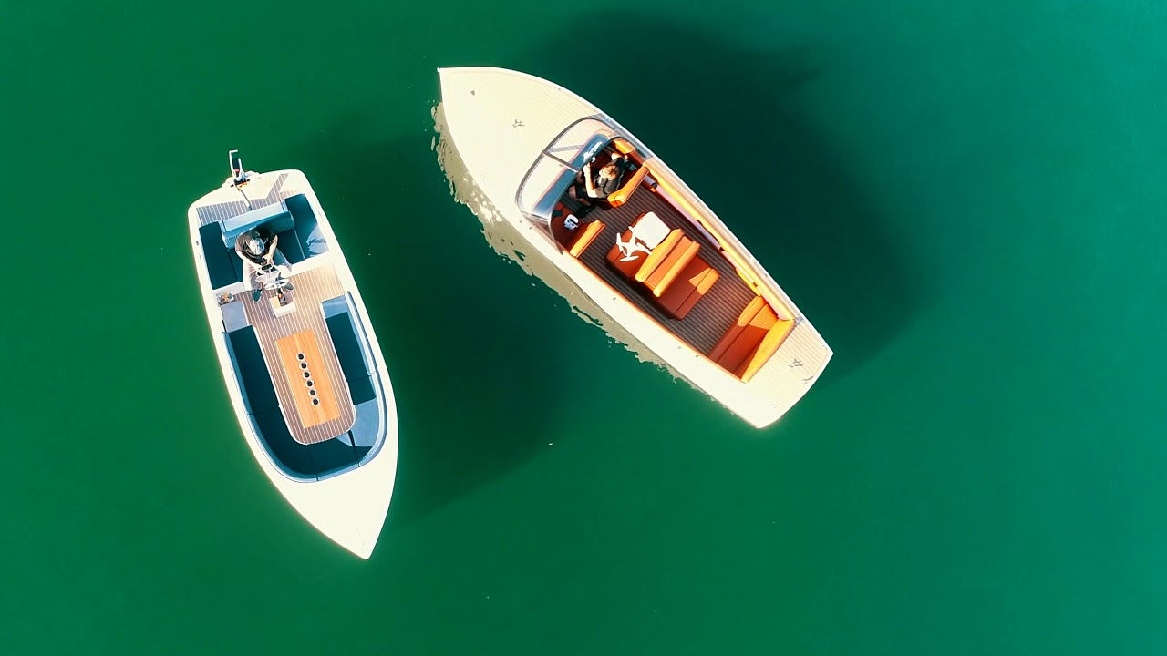 Luxurious and Modern Electric Boats | Bruce 22 T & Volt 180 | CEBC