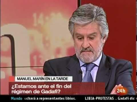 Manuel Marin opina sobre Gadafi y la situacion en ...
