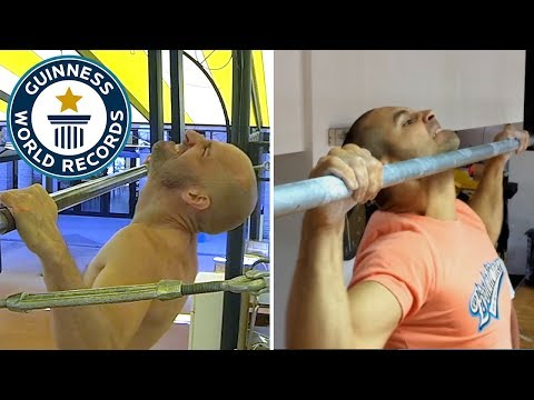 Most pull ups in one minute – Head to Head