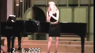 Alexandra Stefan sings Pamina - Mozart