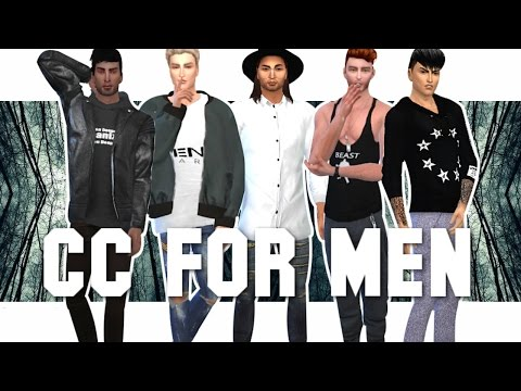 The Sims 4: 45 CC LINKS FOR MEN | SKINS, HAIR, FASHION & MORE!