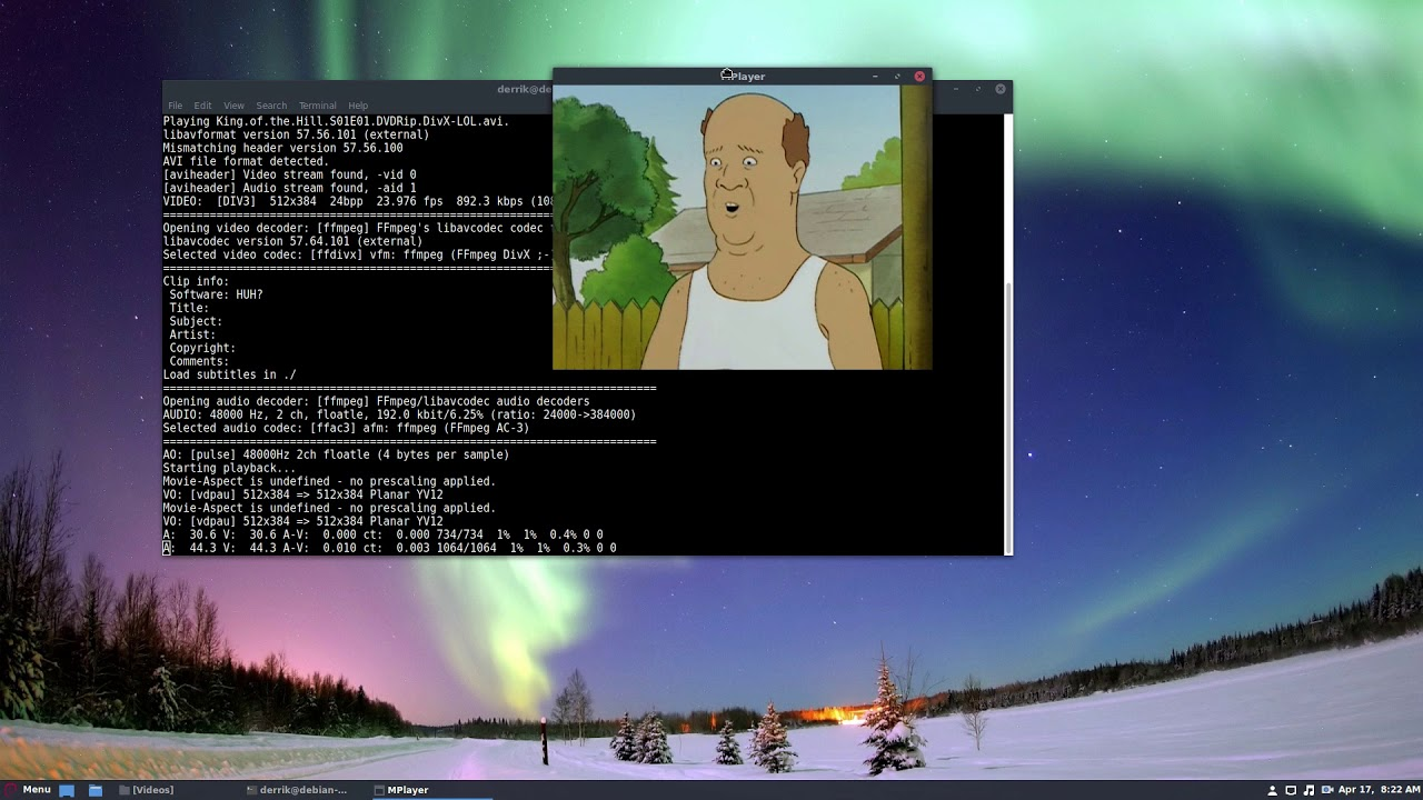 How To Play Video From The Terminal In Linux With Mplayer