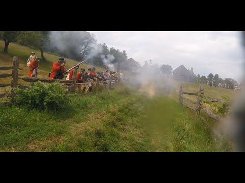 Old Sturbridge Village Redcoats and Rebels, 2016 | First Day | First Person Reenactment