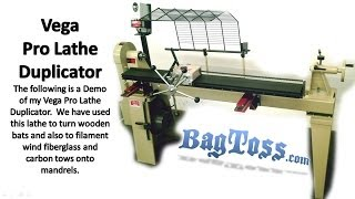Wood Lathe And Duplicator Demo