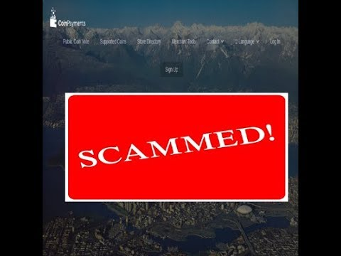coinpayments.net Scammed with me Big scamer coinpaymnets