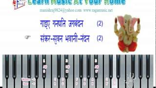 Happy ganesh chaturthi : Ganesh Sruty : Gaie Ye Ganpati Jagbandan By manish rajyaguru