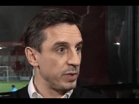 Gary Neville knew Jose Mourinho was under fire at Man Utd in pre