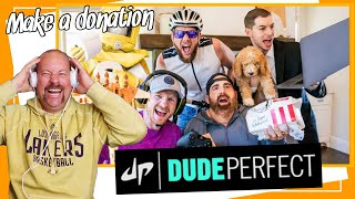 Quarantine Stereotypes | Dude Perfect Reaction