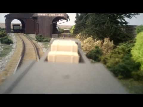 North East model railway - The Man at the Back