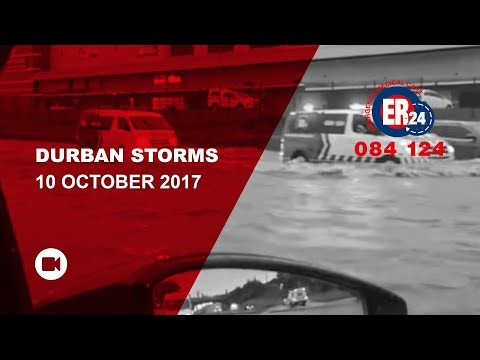 Durban Storms 10 October