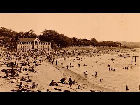 English Bay in the summer of 1933
